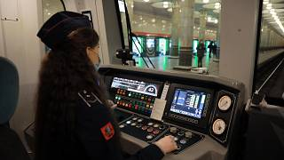 The female drivers are said to be working on the Filyovskaya line, which connects neighbourhoods in west Moscow