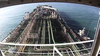 Basra Körfezi'nde İran'ın el koyduğu Güney Kore bandıralı petrol tankeri
