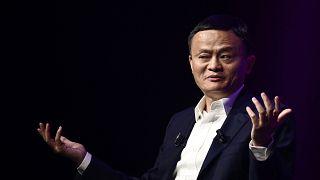 الملياردير جاك ما، أحد أغنى الرجال في الصين ومؤسس شركة علي بابا العملاقة للتجارة الإلكترونية