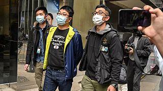 Demokrasi yanlısı aktivist Ben Chung 6 Ocak'ta tutuklandı