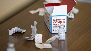Il vaccino Moderna negli Stati Uniti
