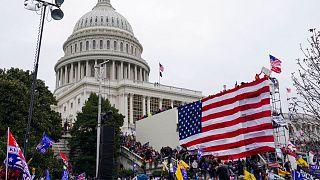 اشغال ساختمان کنگره آمریکا