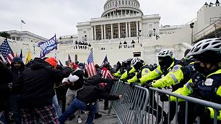 Trump supporters storm US Capitol and clash with police