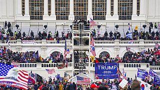ABD Kongre binasını basıldı