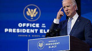 Joe Biden, az Egyesült Államok megválasztott elnöke
