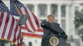Donald Trump en un mitín ante sus seguidores este miércoles