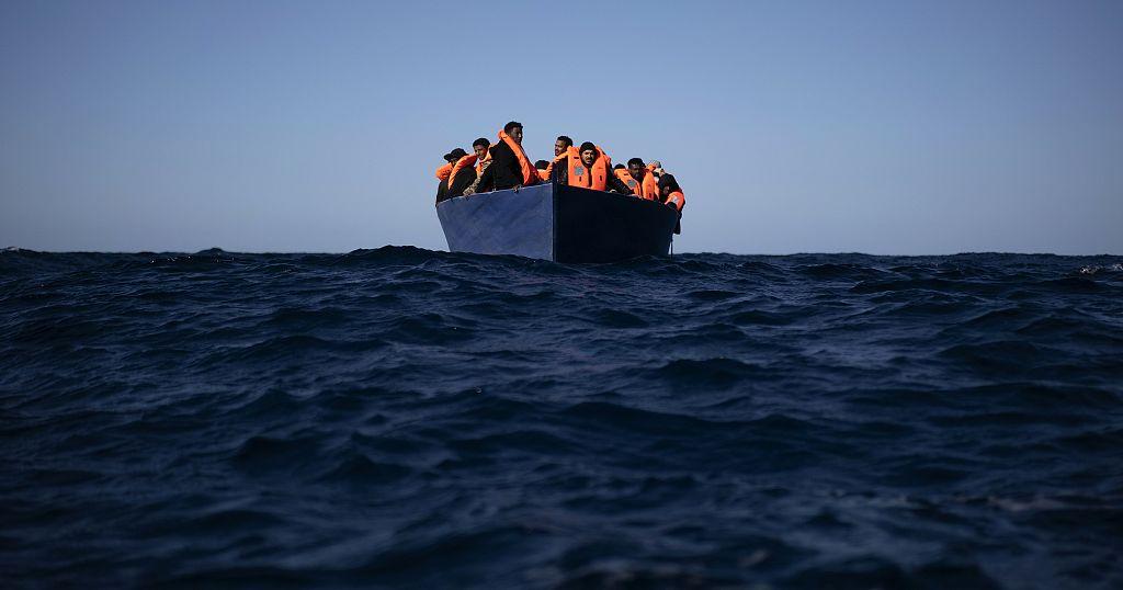 Libyan coastguard rescues almost 100 migrants   Africanews
