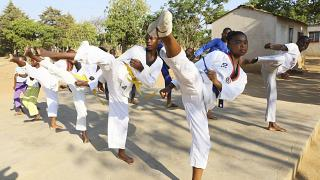 Zimbabwean Teenage Girl Fights Child Marriage with Tae Kwon Do