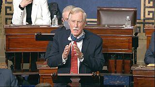 Angus King szenátor beszéde az amerikai szenátus ülésén, magyar idő szerint csütörtök hajnalban