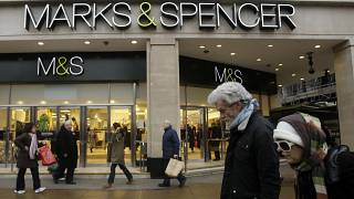 FILE: A large branch of Marks & Spencer is seen on Oxford Street in London, 2009