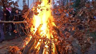 Сожжение бадняка