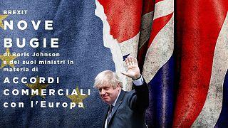 Il premier britannico Boris Johnson non è stato del tutto onesto con i suoi concittadini