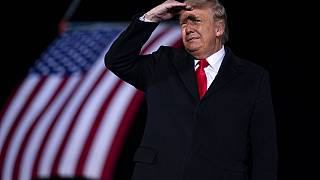 ABD Başkanı Donald Trump. Trump'ın görev süresi 20 Ocak 2021 Çarşamba günü sona eriyor.