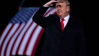 President Donald Trump on Jan. 4, 2021.