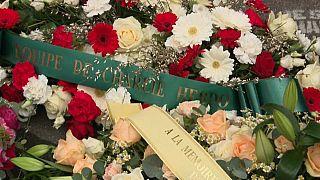 Hommage aux victimes des attentats de janvier 2015