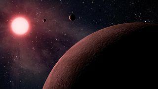 تُظهر هذه الصورة بعض الكواكب المكتشفة الجديدة 10 منها قريبة من الأرض.