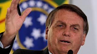 Presidente do Brasil continua ao lado do ainda homólogo dos Estados Unidos