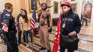 برخی از عاملان حمله به کنگره آمریکا در روز چهارشنبه