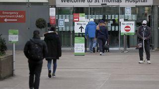 Britain hospitals virus outbreak
