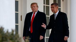 Czech Prime Minister Andrej Babis visisted US President Donald Trump at the White House in March 2019.