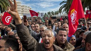 Locals on Strike in Gafsa Tunisia to Make Authorities Honour Promises