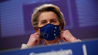 European Commission President Ursula von der Leyen is to update on EU vaccine rollout