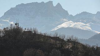 چشم اندازی از کوهستانهای منطقه قره باغ