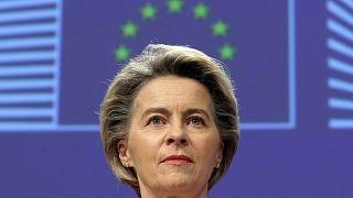 رئيسة المفوضية الأوروبية أورسولا فون دير ليين