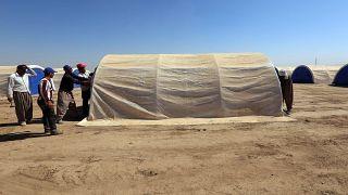 مخيم للنازحين في شمال العراق