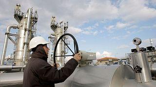 تاسیسات گاز در ترکیه (عکس از آرشیو)