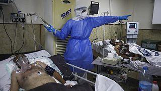 في مستشفى  بإدلب، سوريا