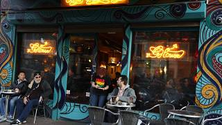 Кофешоп в Амстердаме