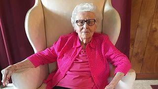 Az amerikai polgárháború veteránjainak utolsó özvegye, Helen Viola Jackson 2017 áprilisában
