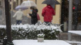 """""""Филомена"""" завалила Испанию снегом"""