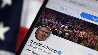 Twitter suspende permanentemente la cuenta de Trump
