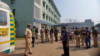 Bhandara'da yangının çıktığı hastane