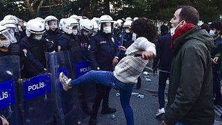 Turkey University Protest