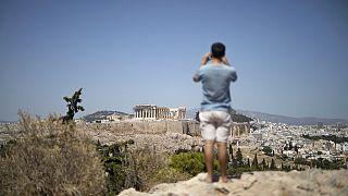 Greece Acropolis Shut