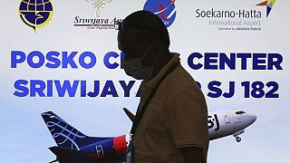 Une cellule de crise a été mise en place à l'aéroport international Soekarno-Hatta de Tangerang, en Indonésie, le samedi 9 janvier 2021.