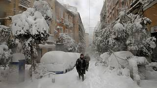 برف سنگین در مادرید