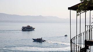آبهای سواحل قبرس در دریای اژه