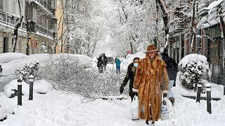 La tempête Filomena fait au moins trois morts en Espagne