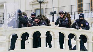مأموران پلیس فدرال آمریکا در کنگره