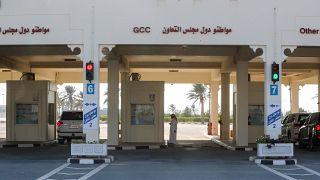 Katar Suudi Arabistan sınırı açıldı