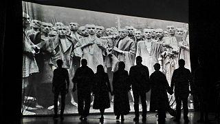 Φωτό αρχείου - Μνημείο για το Ολοκαύτωμα στη Ρουμανία