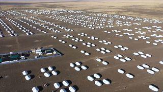 Новый лагерь для беженцев из Эфиопии в Судане