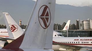 طائرات الخطوط الجوية الجزائرية تقف على مدرج مطار هواري بومدين في الجزائر العاصمة - 6 ديسمبر 2020.