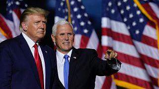 ABD Başkanı Donald Trump ve yardımcısı Mike Pence