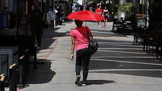 Kıbrıs'ta eylül ayındaki aşırı sıcaklıklar