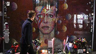 ARCHIVO/Mural homenaje a David Bowie, Londres (Reino Unido) 10/01/2020